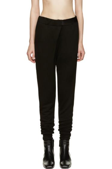 Ann Demeulemeester - Black Grito Lounge Pants