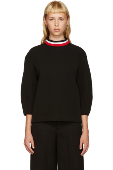 Marni - Black Bonded Jersey Pullover