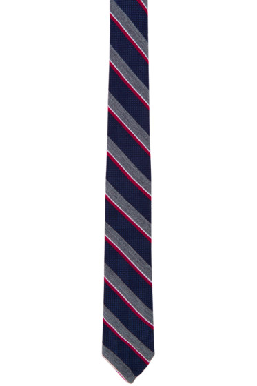 Thom Browne - Multicolor Wool & Silk Classic Tie