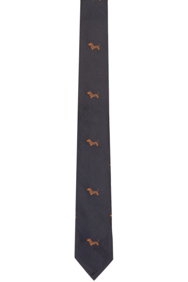 Thom Browne - Navy Classic Hector Tie