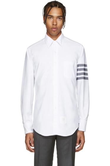 Thom Browne - White Oxford Shirt