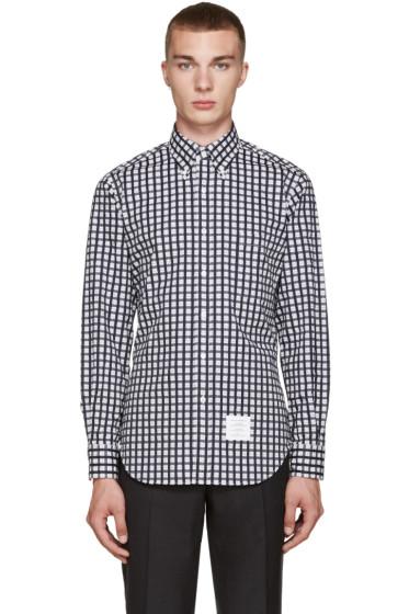 Thom Browne - Tricolor Classic Check Shirt