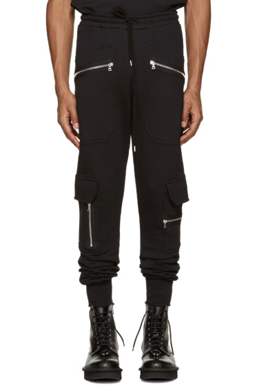 Markus Lupfer - Black Zip Lounge Pants
