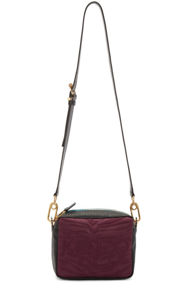 Kenzo - Burgundy Kombo Camera Bag