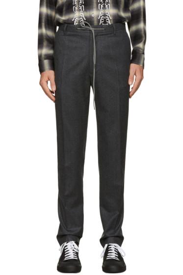Kenzo - Grey Drawstring Trousers