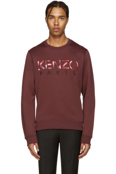 Kenzo - Red Logo Pullover