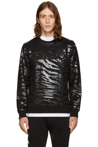 Kenzo - Black Tiger Stripes Pullover