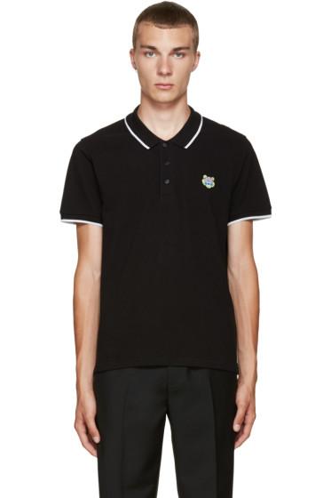Kenzo - Black Embroidered Polo