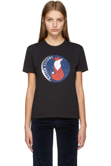 Maison Kitsuné - Black Dan-Ah Kim Edition Moon T-Shirt