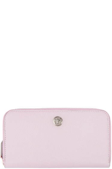 Versace - Pink Continental Wallet