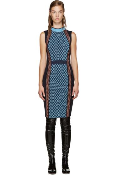 Versace - Navy Bodycon Dress