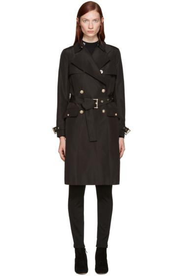 Versace - Black Classic Trench Coat