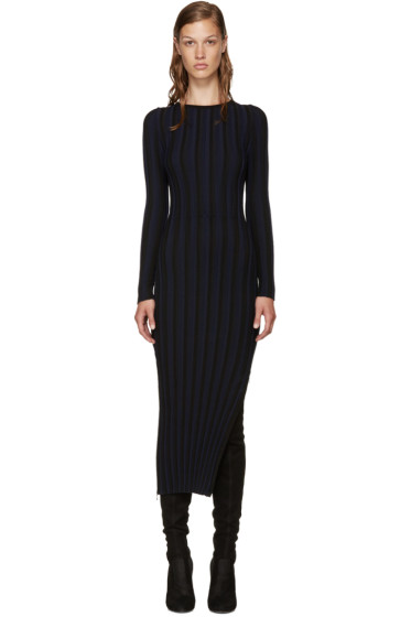 Altuzarra - Black & Navy Amelia Dress