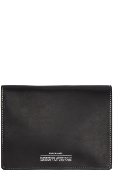 Undercover - Black Leather Bifold Wallet