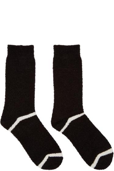 Undercover - Black Double Stripe Socks