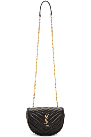 Saint Laurent - Black Classic Baby Monogram Chain Bag