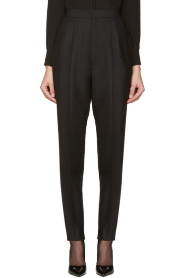 Saint Laurent - Black Carrot Pants