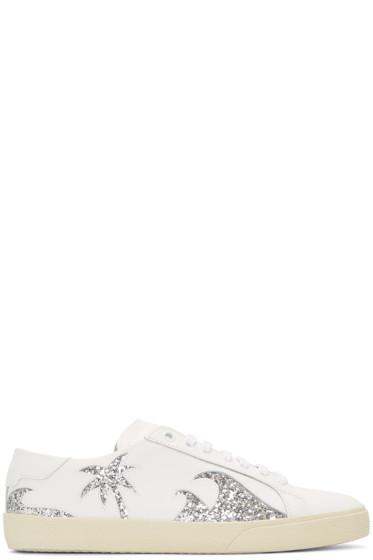 Saint Laurent - Off-White Court classic SL/06 California Sea Sex Sun Sneakers