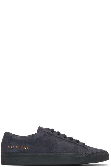 Woman by Common Projects - Navy Original Achilles Sneakers