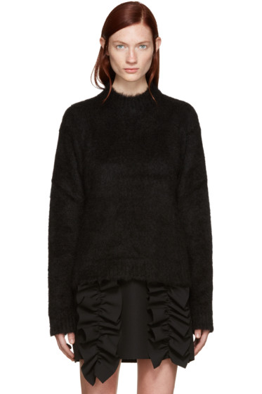 MSGM - Black Mohair Turtleneck