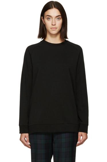 6397 - Black Raglan Pullover