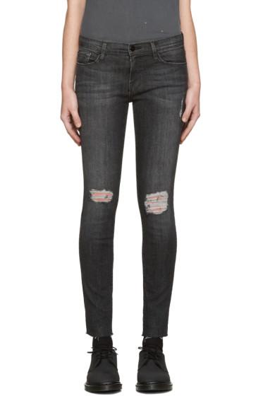 Frame Denim - Black Le Skinny de Jeanne Jeans