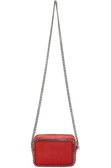 Stella McCartney - Red Falabella Crossbody Clutch Bag