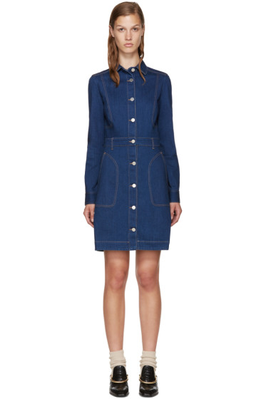 Stella McCartney - Blue Denim Dress