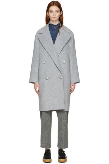 Stella McCartney - Grey Wendy Coat