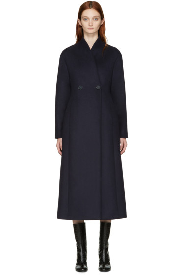 Stella McCartney - Blue Wool Lisis Coat