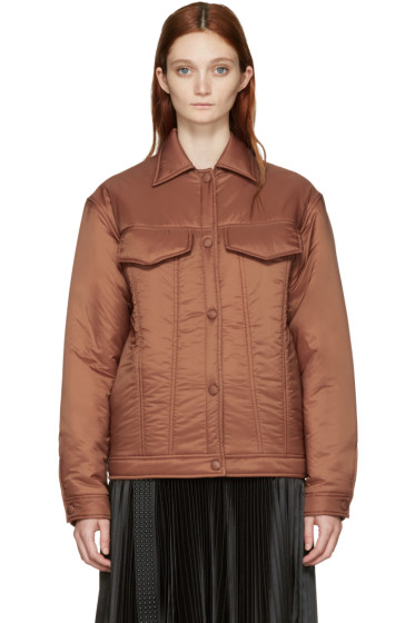 Stella McCartney - Brown Nylon Moony Jacket