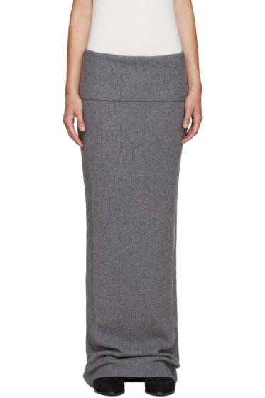 Stella McCartney - Grey Wool Skirt