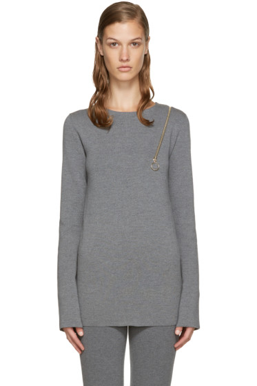Stella McCartney - Grey Strong Lines Sweater