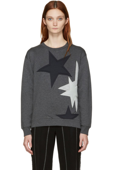 Stella McCartney - Grey Stars Pullover