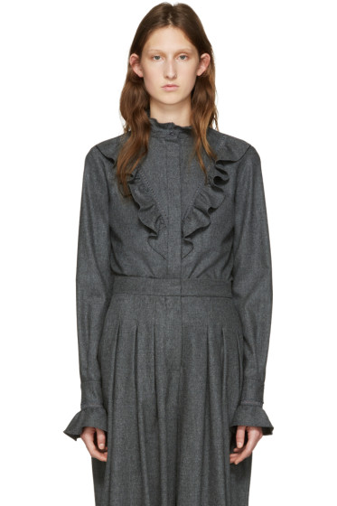 Stella McCartney - Grey Wool Clara Shirt