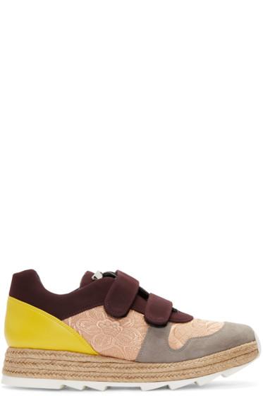 Stella McCartney - Multicolor Velcro Macy Sneakers