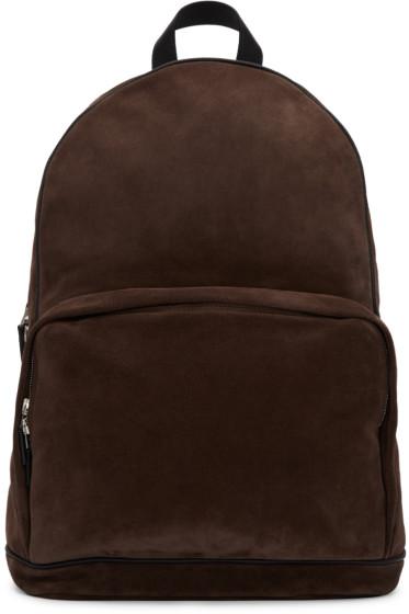 Umit Benan - Brown Suede Backpack