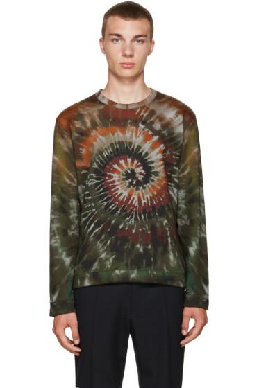 Valentino - Green Tie Dye Pullover