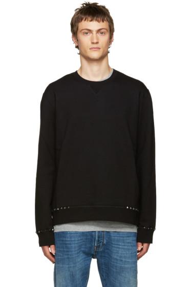 Valentino - Black Studded Pullover