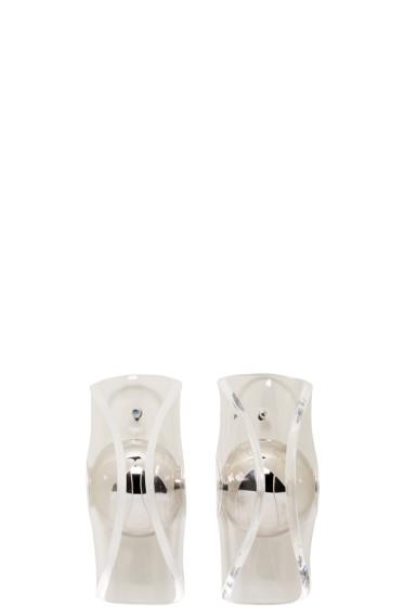 J.W.Anderson - Silver Globe Earrings