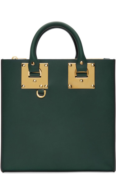 Sophie Hulme - Green Square Albion Tote