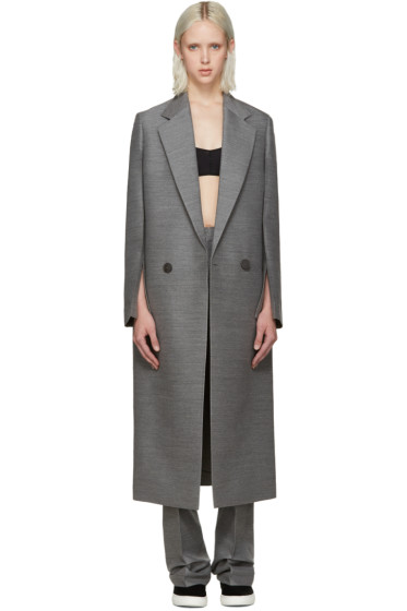 Calvin Klein Collection - Grey Tailored Coat