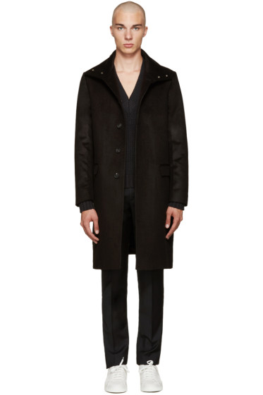 Calvin Klein Collection - Black Newton Coat