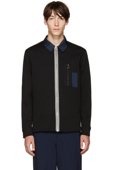 Tim Coppens - Black Zip-Up Shirt