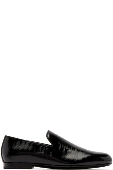 Jimmy Choo - Black Wave Sloane Loafers