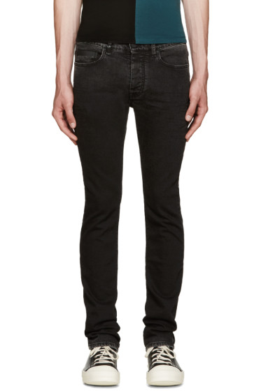 Marcelo Burlon County of Milan - Black Slim Jeans