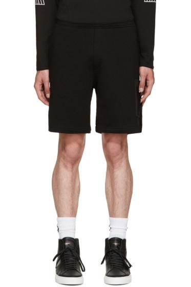 Marcelo Burlon County of Milan - Black Reventador Shorts