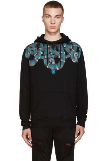 Marcelo Burlon County of Milan - Black Aconcagua Hoodie