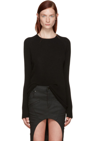 Haider Ackermann - Black Ribbed Sweater