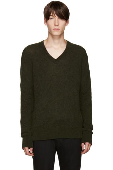Haider Ackermann - Green Mohair Sweater